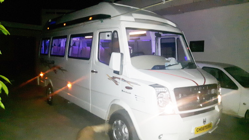 Tempo Traveller on hire in Chandigarh